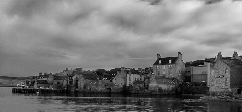 A grey day in Lerwick