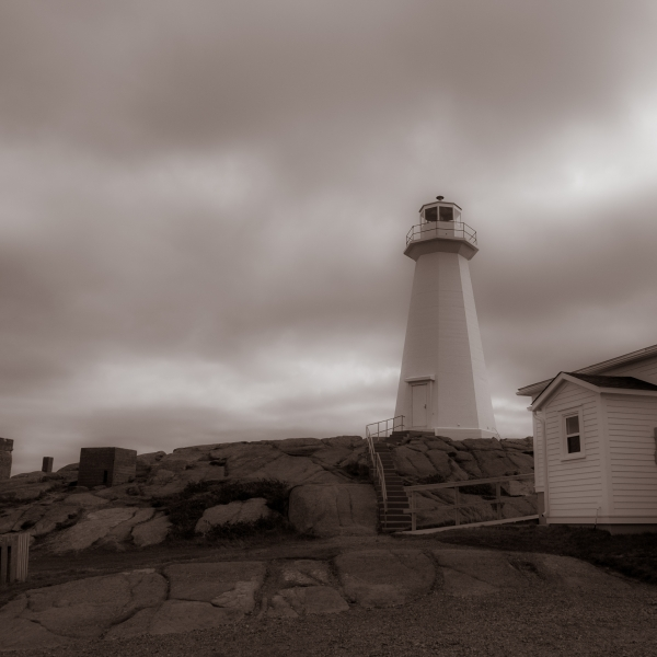 The Lighthouse At Cape Spear