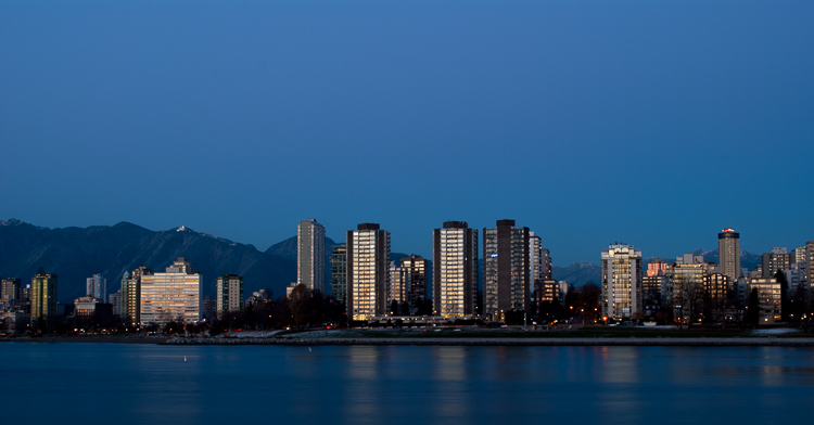Vancouver, West End at Dusk 879