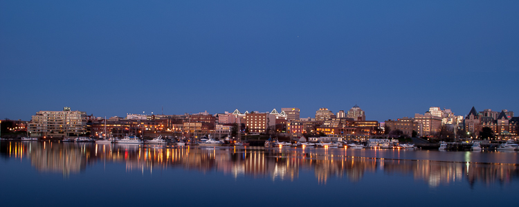 Victoria, BC – A Floating City