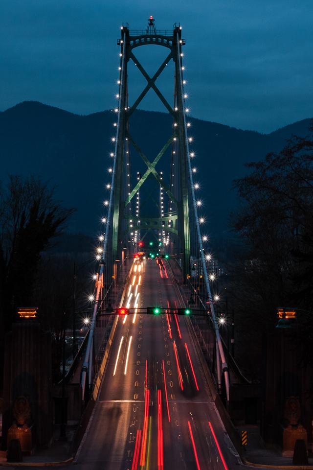 Lion's Gate Bridge, Vancouver, BC