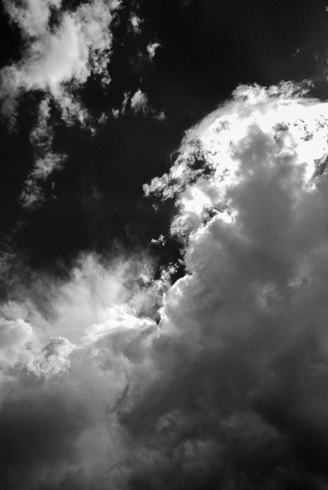 New Mexico Clouds (BW01 960)
