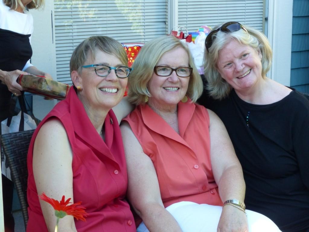Penny, Barbara and Lynne