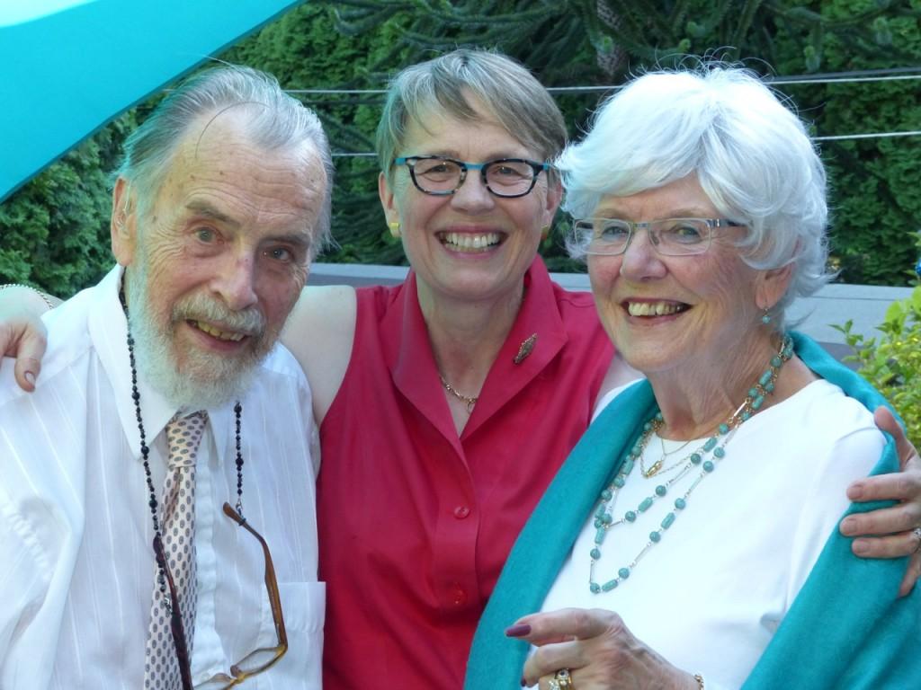 Maurice, Penny and Shelagh-Ann