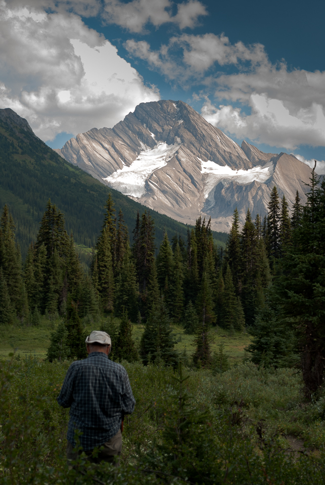 Spray River Valley on the Palliser Pass Trail, AB