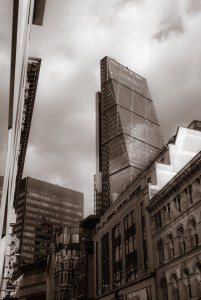 """The Cheese Grater"", Leadenhall, City of London"