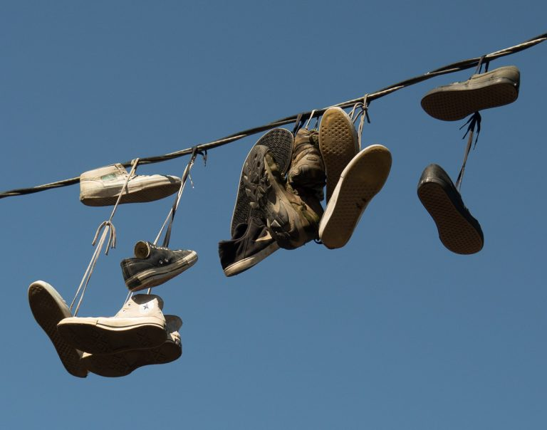 Shoes On A Wire (263)