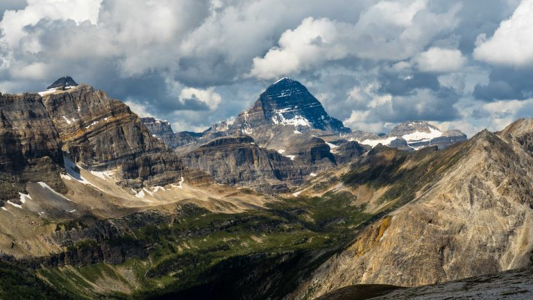 Mount Assiniboine From the South (086-11)