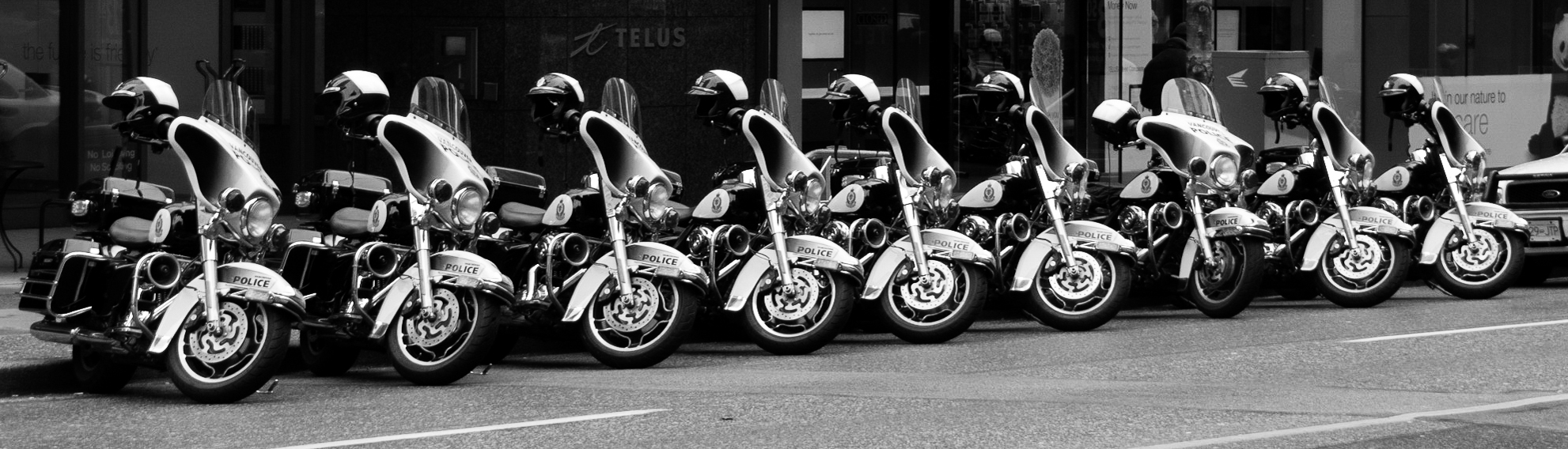 Patterns of Police Motorcycles