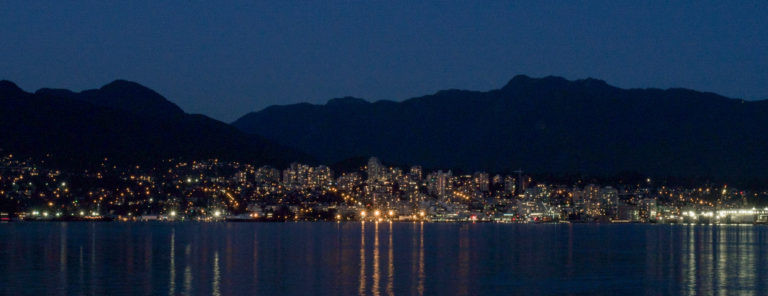North Vancouver at Night