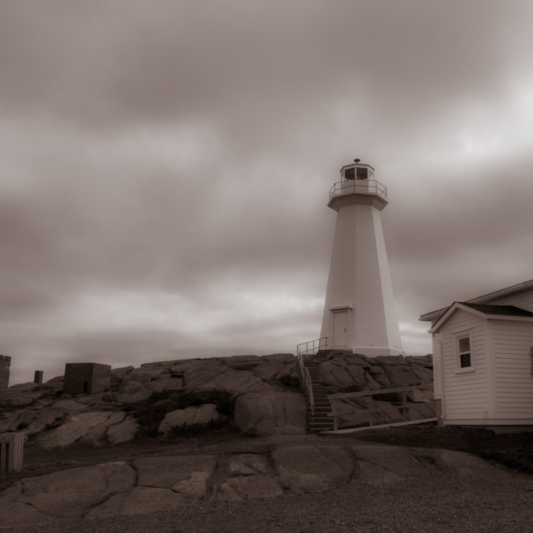 Lighthouse at Signal Hill, Newfoundland & Labrador