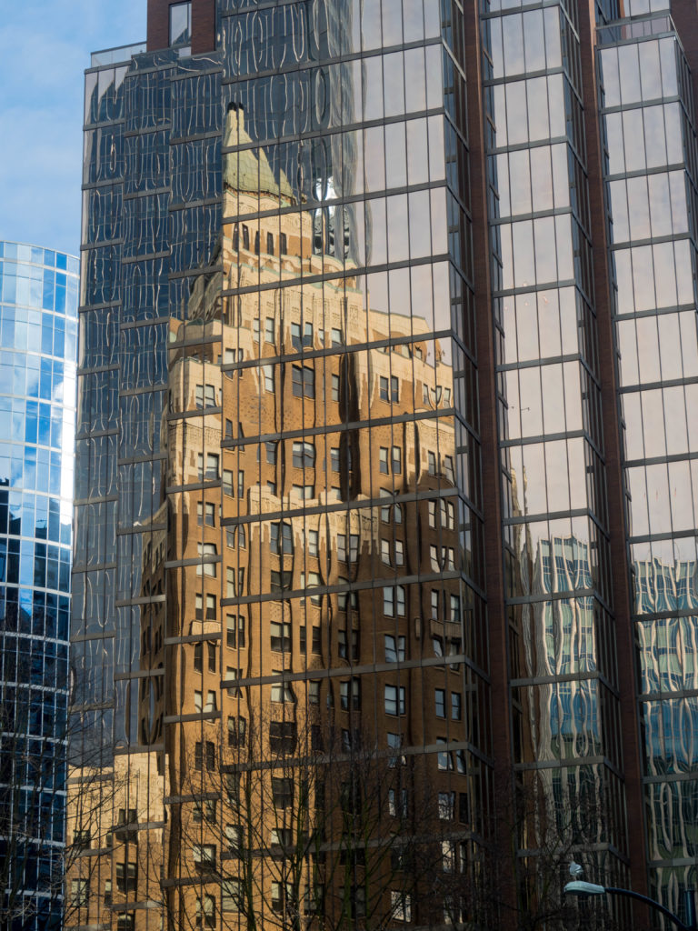 Marine Building Reflections