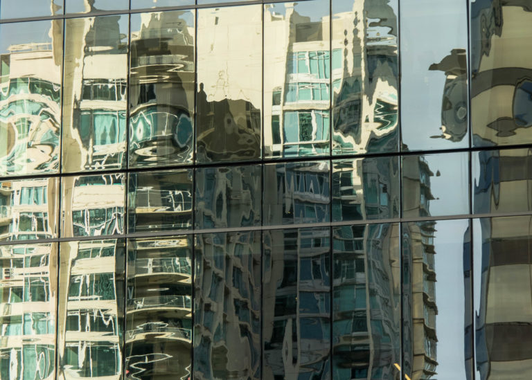 Downtown Reflections, Vancouver, BC