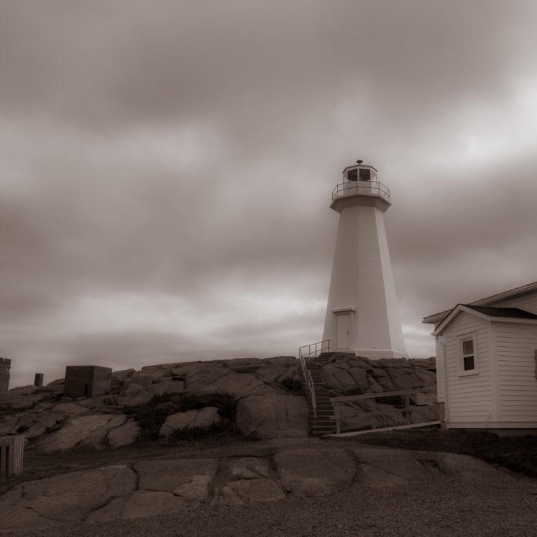 Lighthouse at Signal Hill, Newfoundland & Labrador (1499)