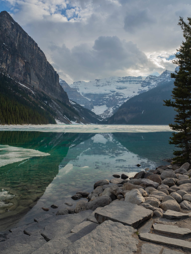 Lake Louise Still Iced Over (310)