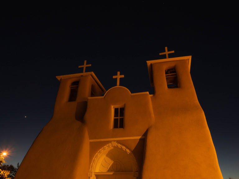 Church of St Francis, Rancho de Taos, NM (1808)