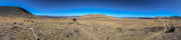 Panorama at the top of Scout Mountain