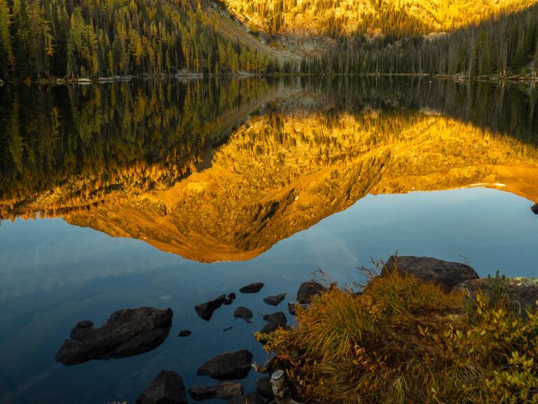 Morning at Lake Quiniscoe