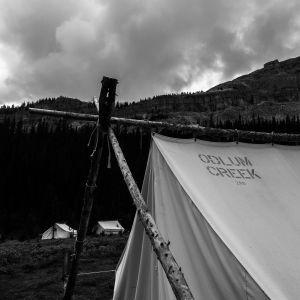 Rain Clouds Over Camp (046)