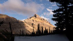 White Man Mountain At Sunset (048)