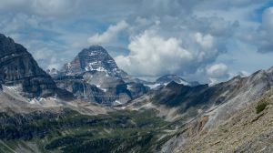 Mount Assiniboine From Above Orange Gully (101)
