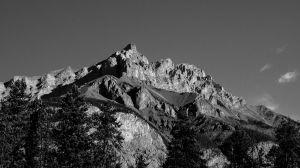 Mountain Outside Banff (325)
