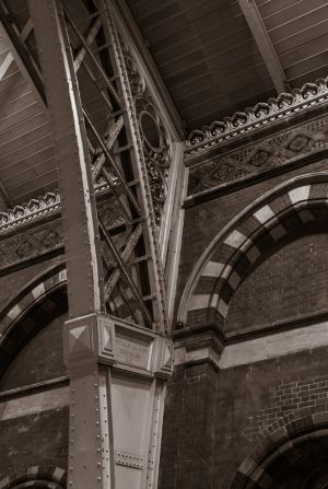 St Pancras Iron Supports (1968)