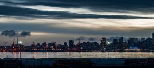 Vancouver By Night From the North Shore (0930)